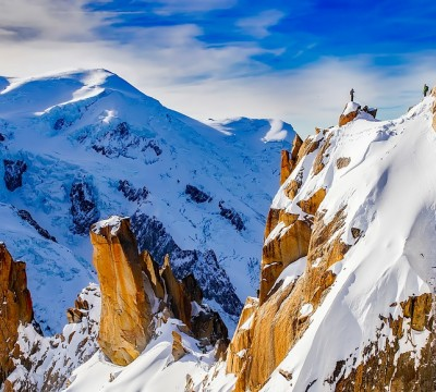 Rock Climbing in Chamonix Mont-Blanc