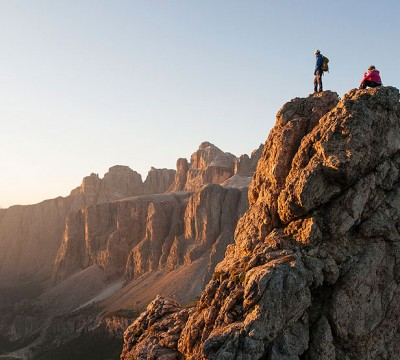 Single-pitch Rock Climbing in the Dolomites