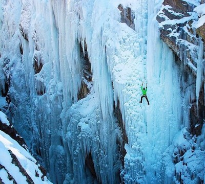 Guided Ice Climbing In the Dolomites