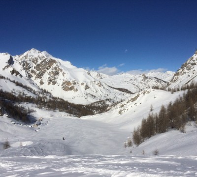 Guided ski touring in the Maritime Alps